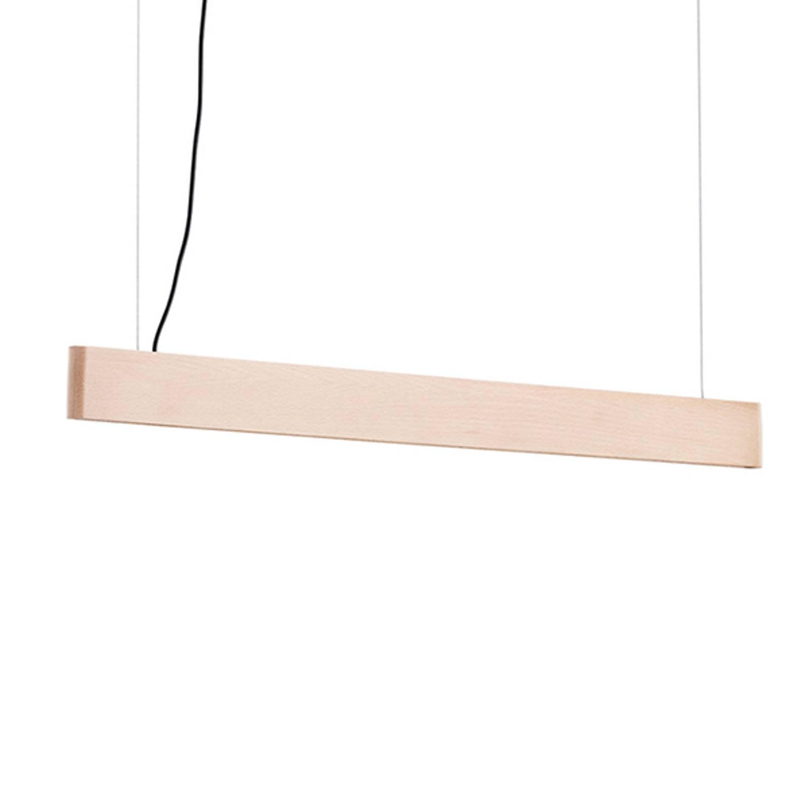 LED-riippuvalaisin Abbon, varjostin pyökkiä, 70 cm