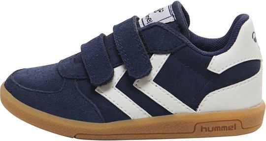 Hummel Victory Suede Sneaker, Black Iris 20