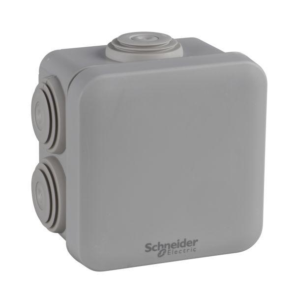Schneider Electric ENN05264 Brannboks 80 x 80 x 45 mm Grå klck