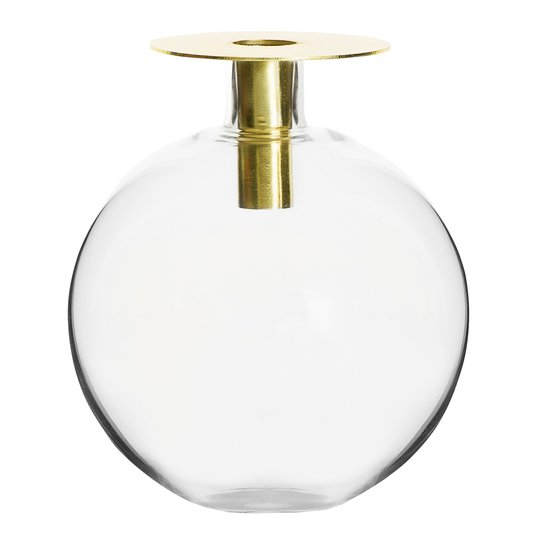 Sagaform - Top Vas/Ljusstake 18 cm Guld