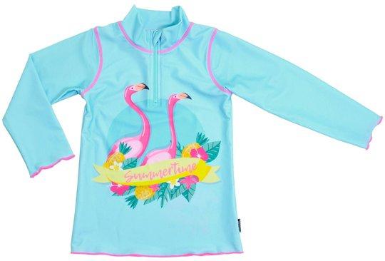 Swimpy Flamingo UV-Drakt UPF50+, Turkis, 98-104