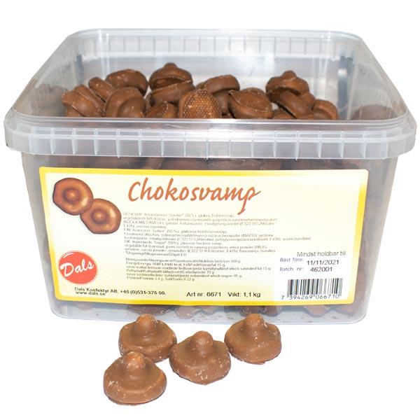 Chokladsvampar 1,1 kg