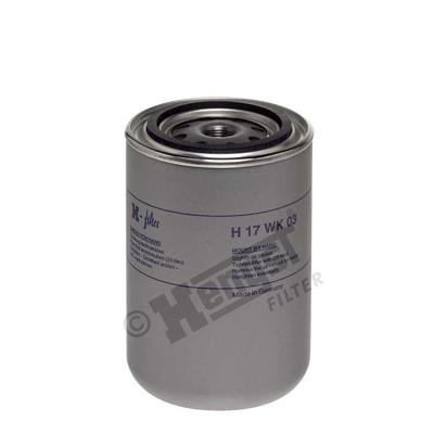 Polttoainesuodatin HENGST FILTER H17WK03