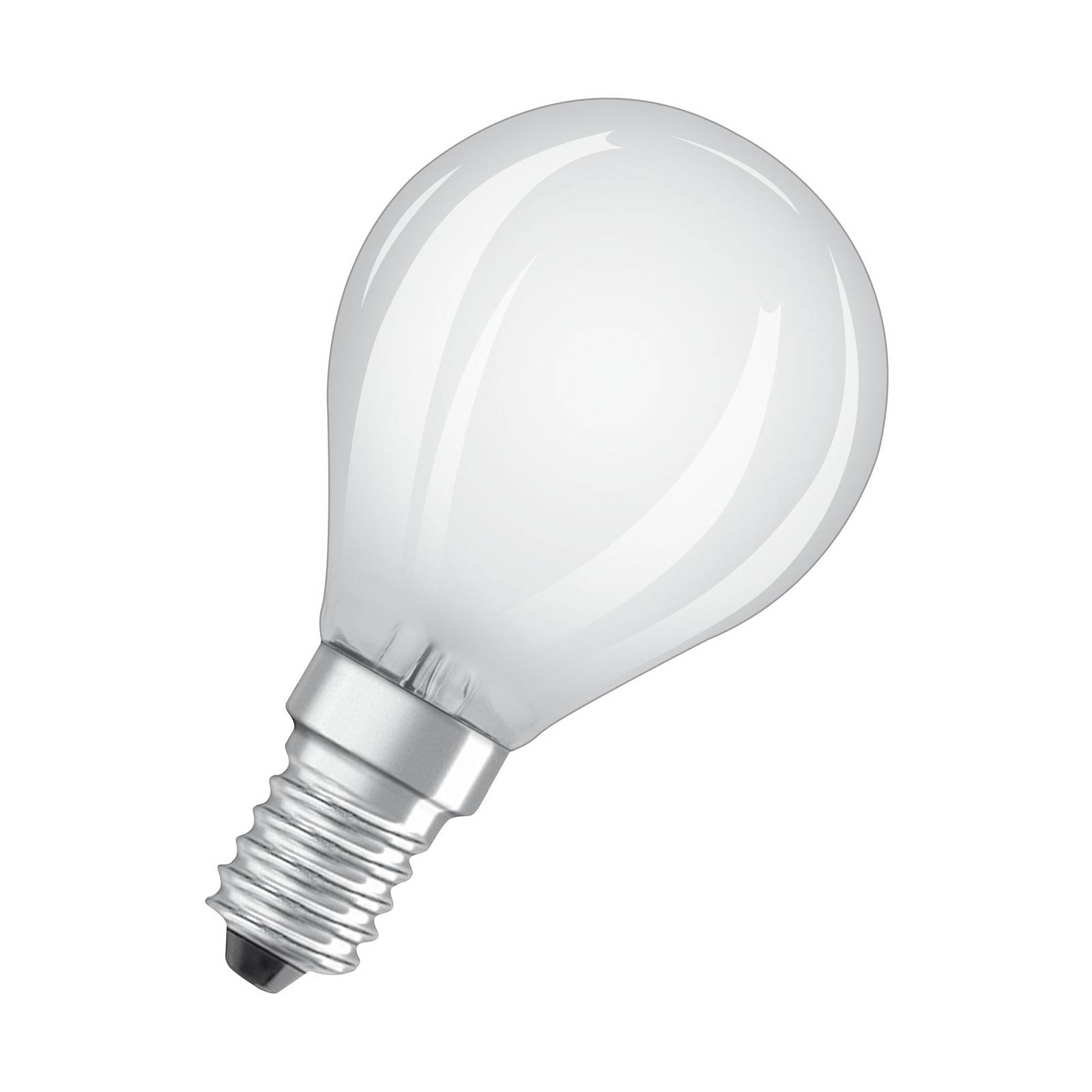 OSRAM-LED-golfpallolamppu E14 6,5W 840 himmennys