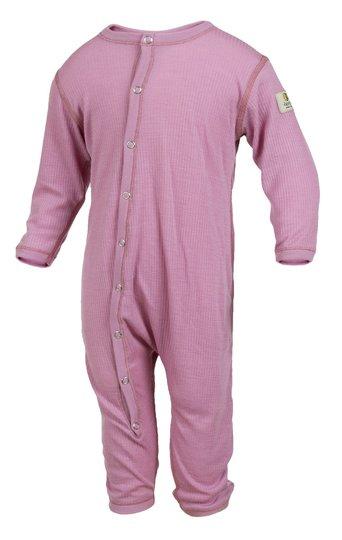 Janus Baby Lightwool Pyjamas, Dusty Rose, 50