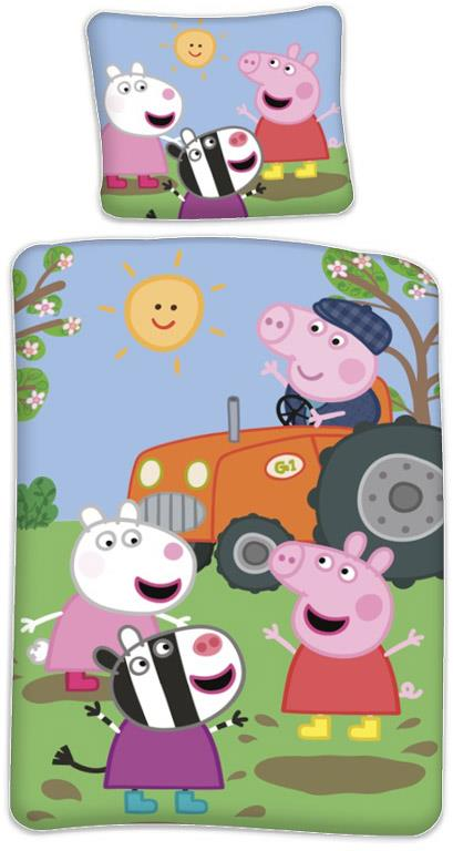 Bed Linen - Adult Size 140 x 200 cm - Peppa Pig (1000317)