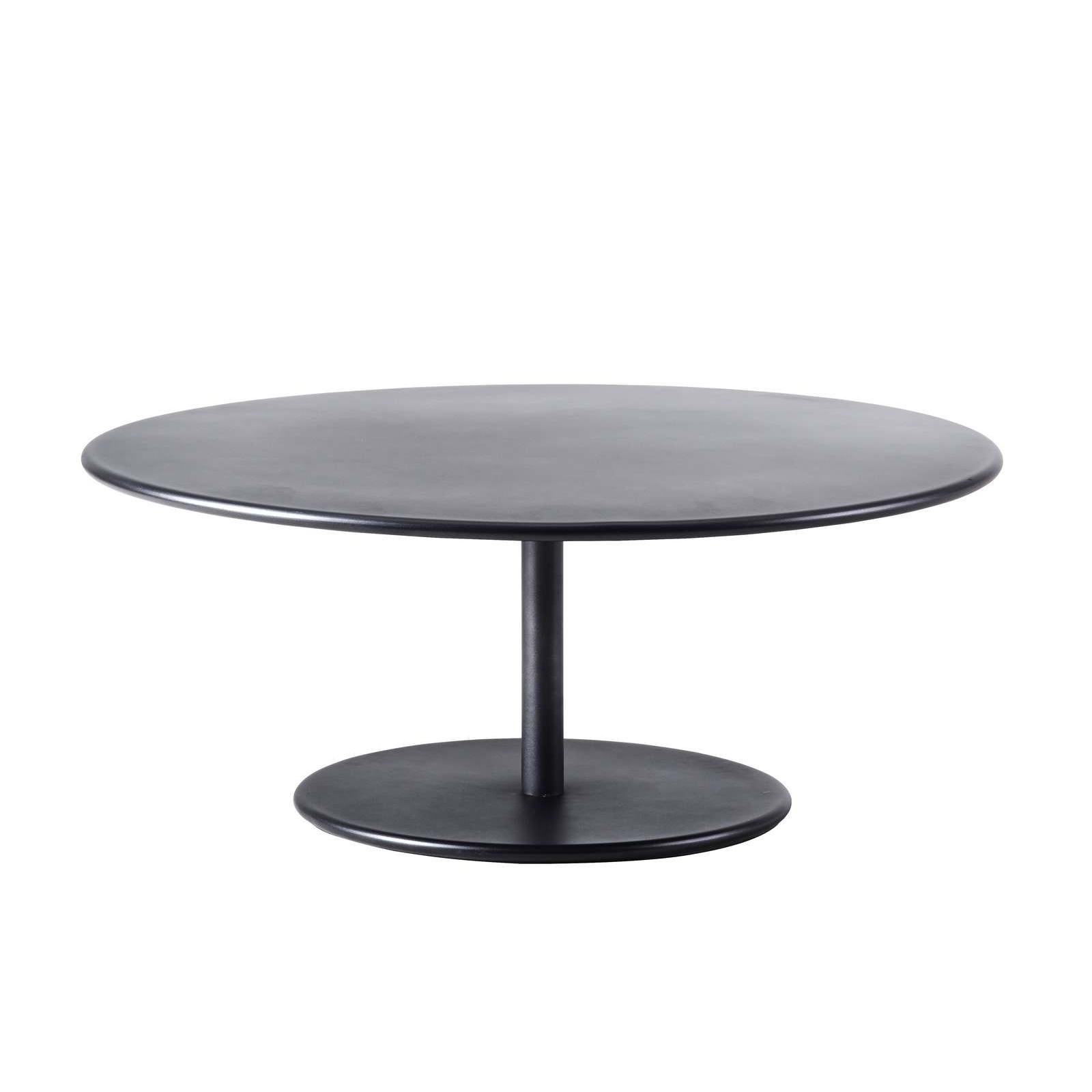 Coffee table GO Ø 110 cm lavagrå, Cane-line