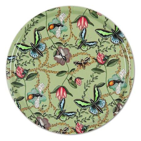 Nadja Wedin Design Brett 38 cm Bugs & Butterflies Grønn