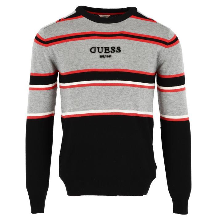 Guess Men's Sweater Black 307377 - black XS