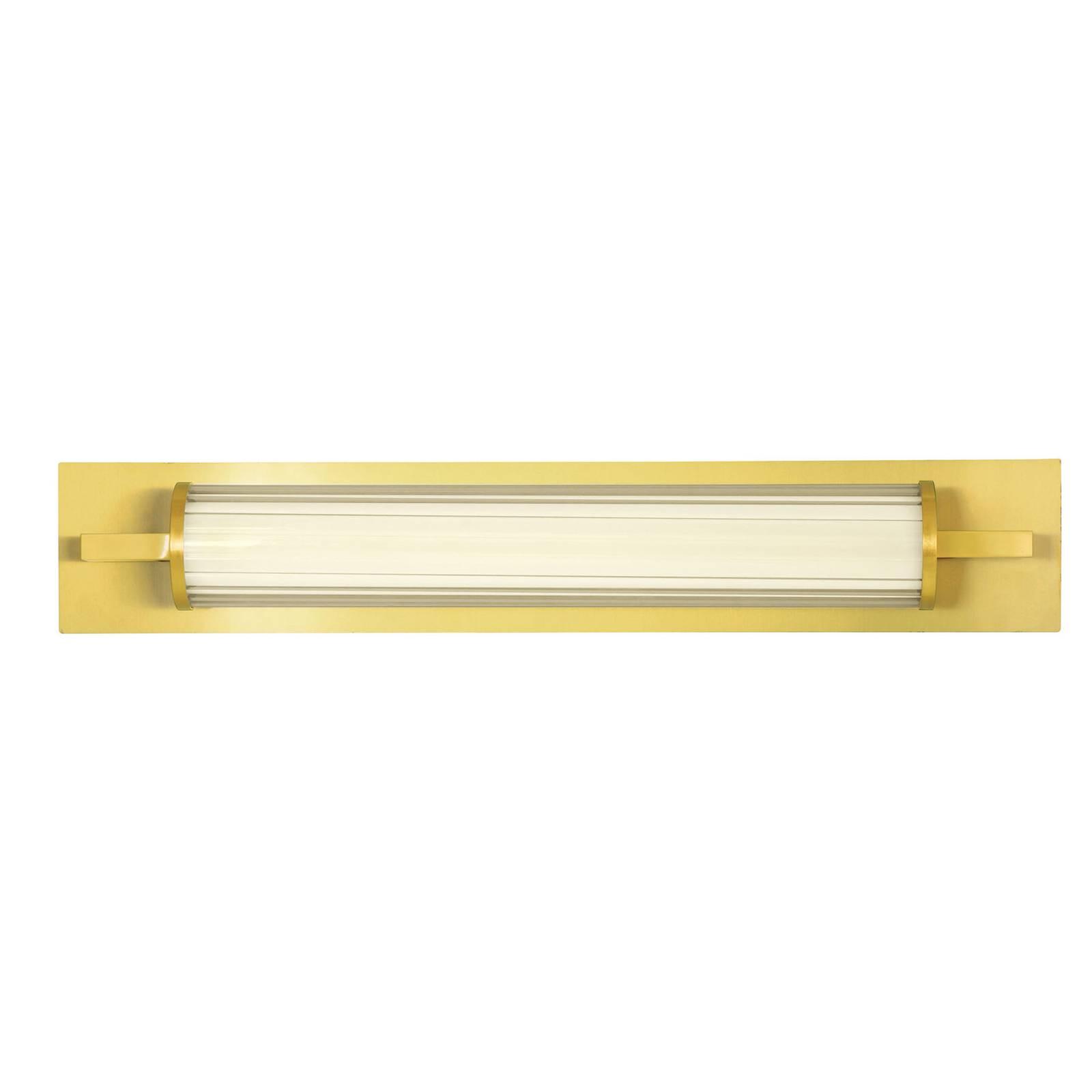 LED-seinävalaisin Frida lasia, valkoinen/kulta
