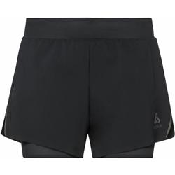 Odlo 2-In-1 Shorts Zeroweight 3 Inch Blackpack Women