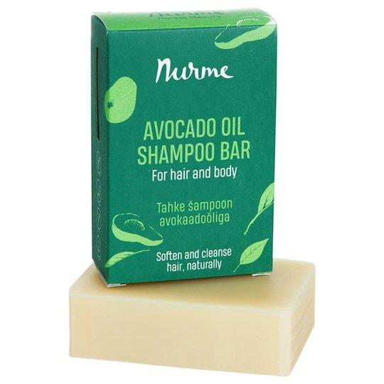 Nurme Avocado Oil Shampoo Bar, 100 g