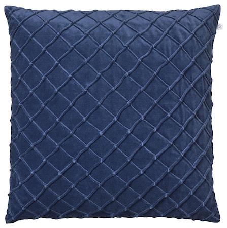 Deva Kuddfodral Velvet Blå 40x60cm