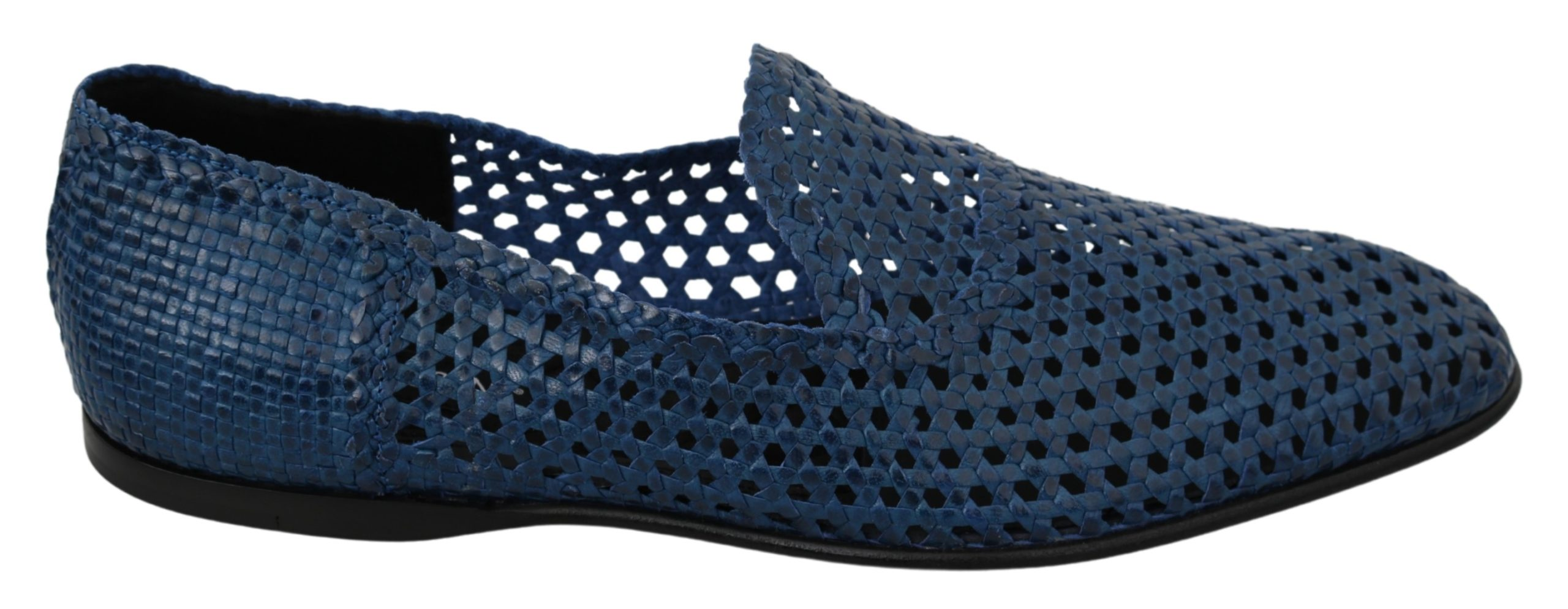 Dolce & Gabbana Men's Breathable Loafer Blue MV2878 - EU43.5/US10.5