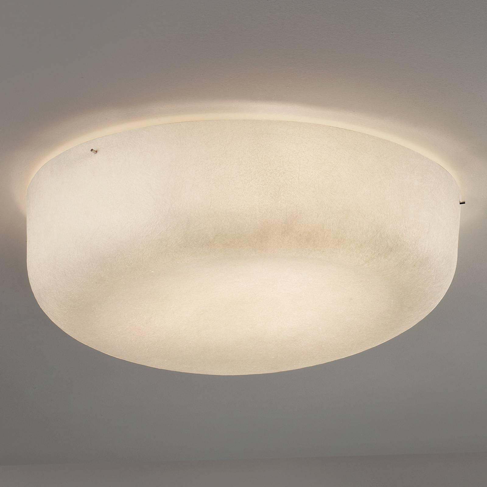 Taklampe Ola Slim av glassfiber, hvit