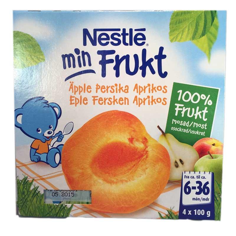 Min Frukt äpple, persika & aprikos - 48% rabatt