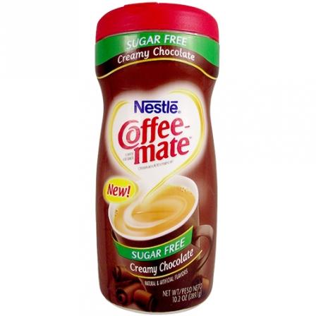 Nestle Coffee-Mate Sugar Free Creamy Chocolate 289g