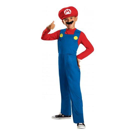 Super Mario Barn Maskeraddräkt - Small