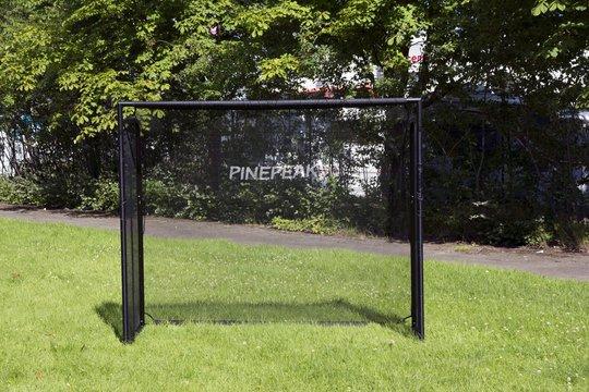 Pinepeak Premium Fotballmål med Målduk Medium
