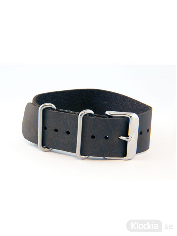 GUL Armband Snapper Leather Nato Brown 22mm 205060000
