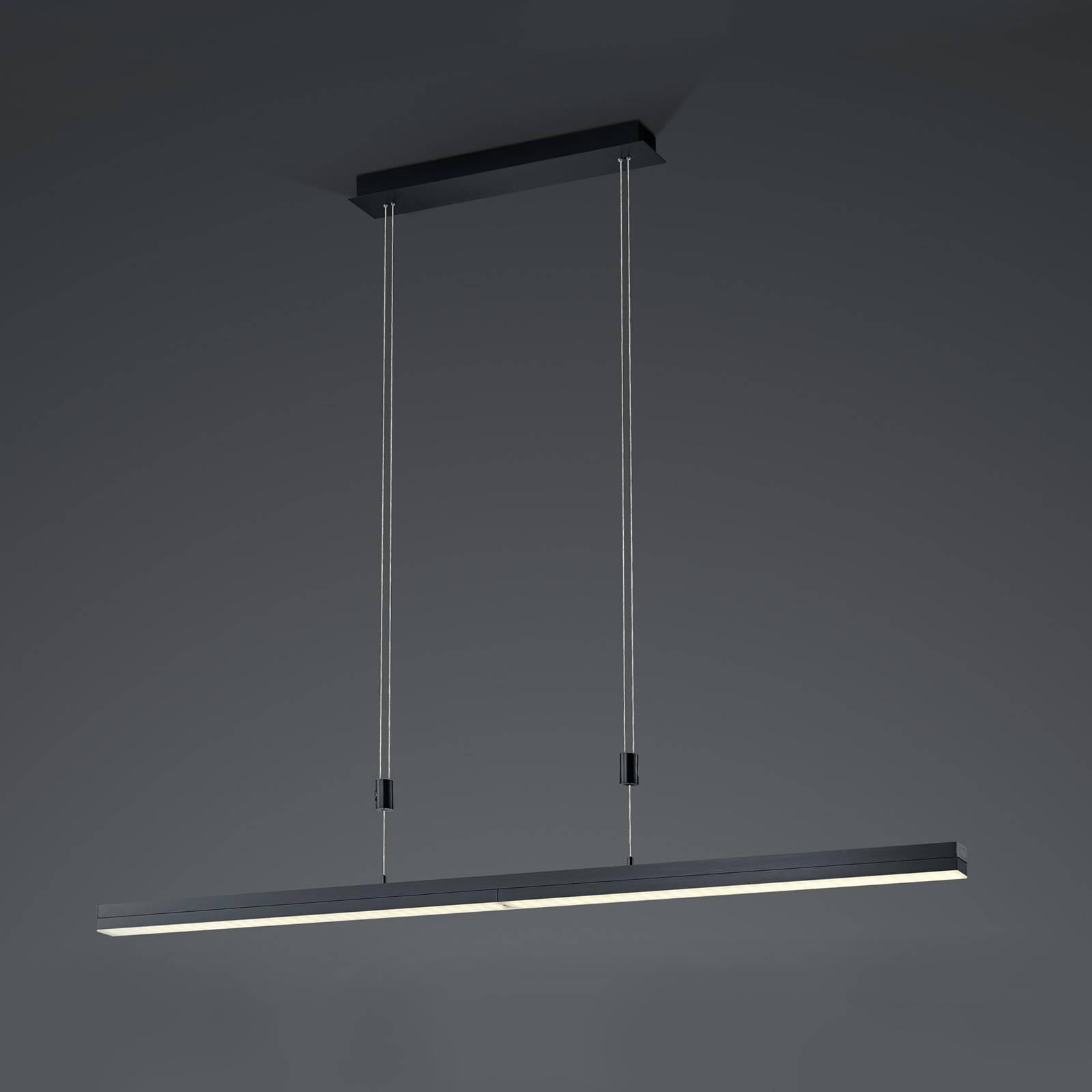 B-Leuchten Expanda-X LED-riippuvalo, antrasiitti