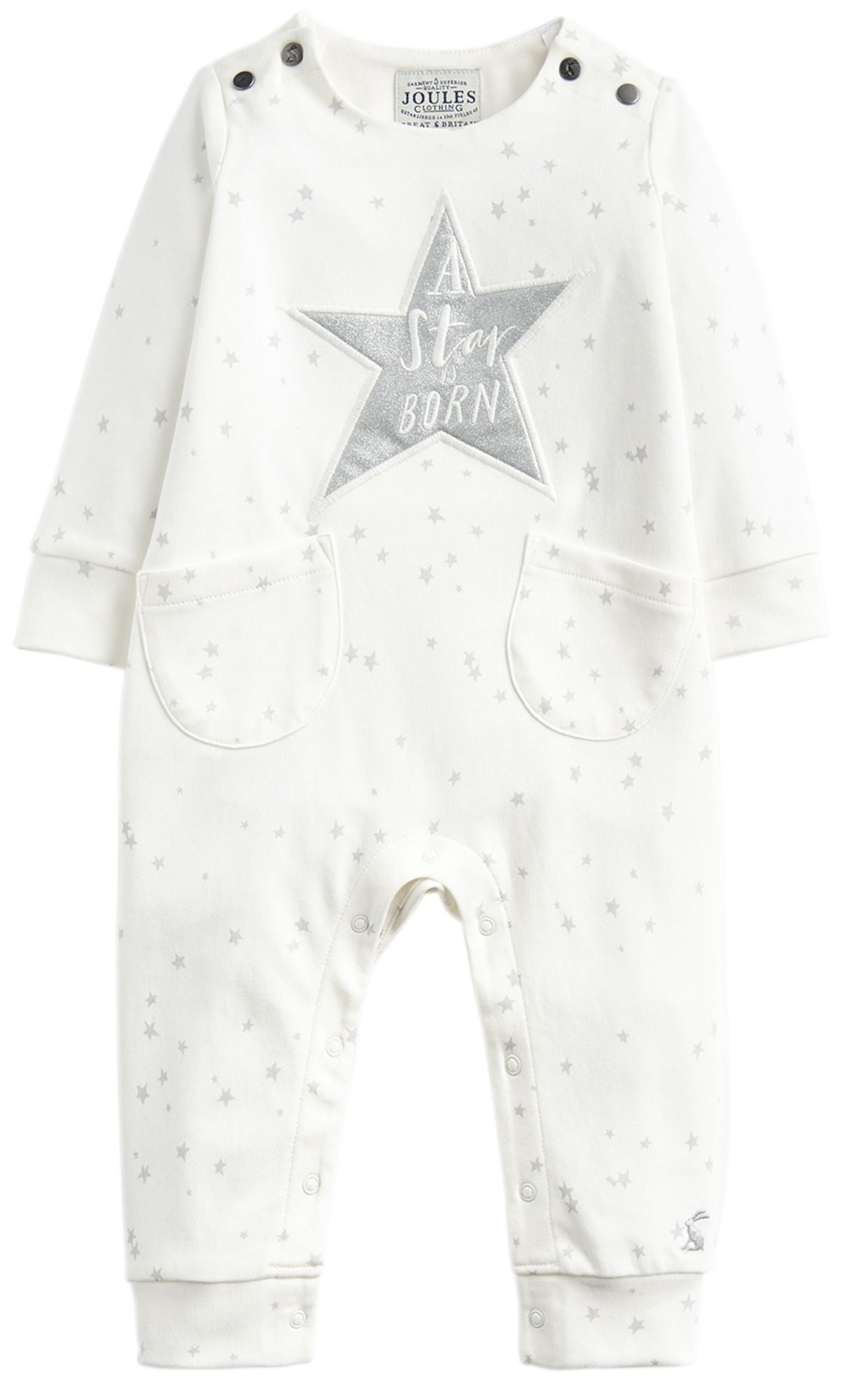 Tom Joule Jumpsuit, Creme Cinderella Star Hope 12-18 mån