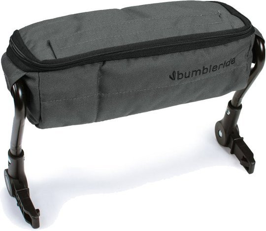 Bumbleride Indie Twin Snack Organizer, Grey Mint
