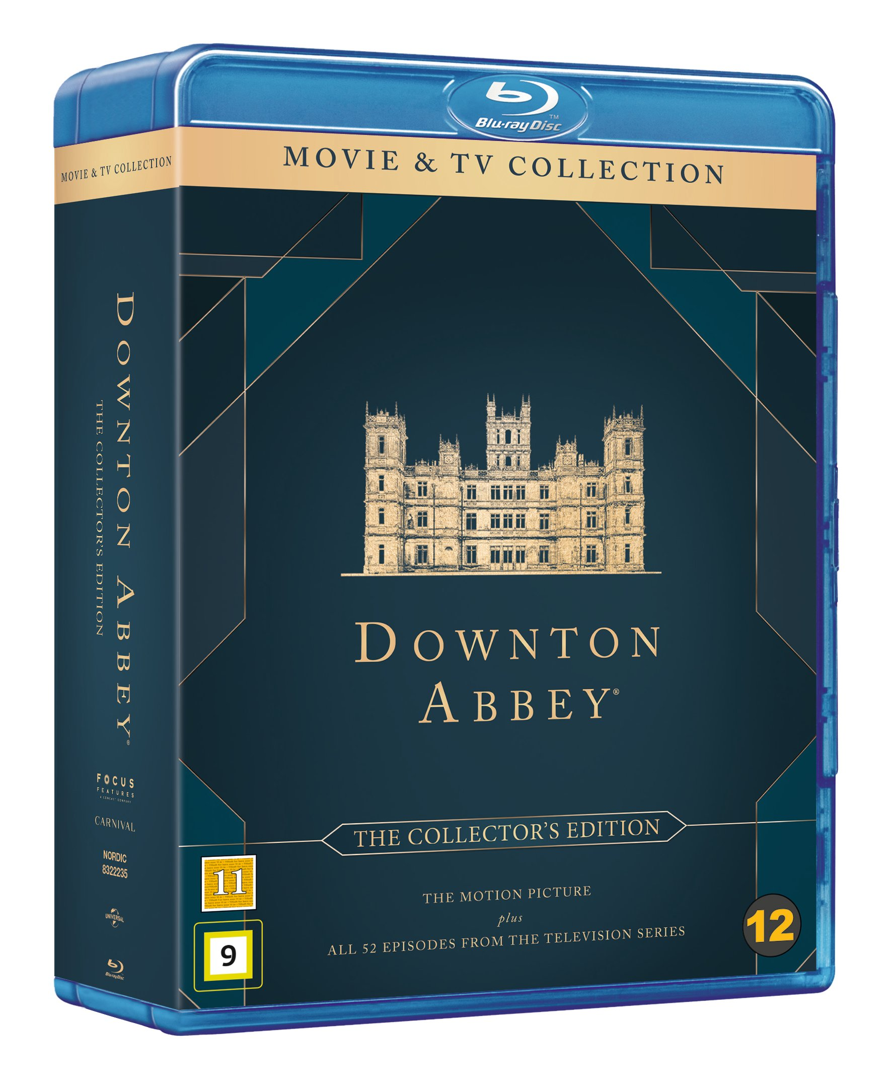 Downton Abbey Collectors Edtion - Blu ray