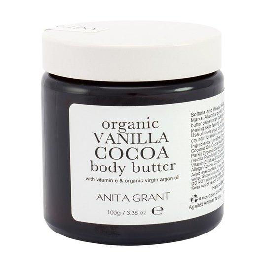 Anita Grant Organic Vanilla Cocoa Body Butter, 100 g