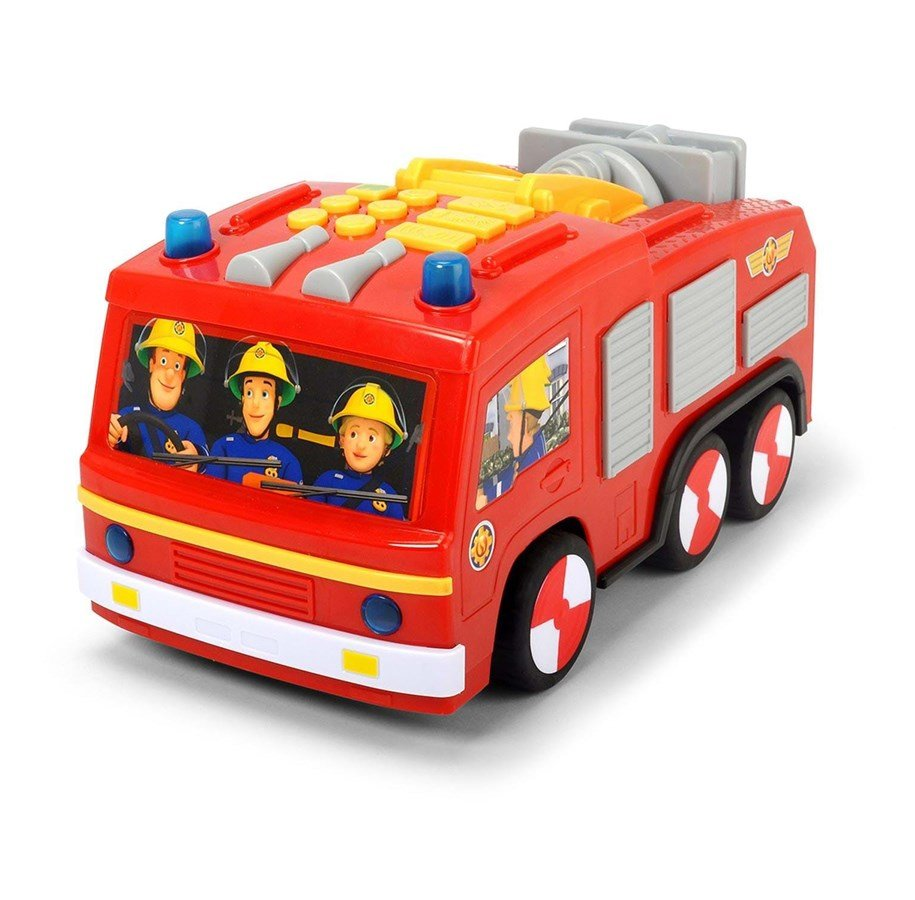 Fireman Sam - Super Tech Jupiter with Lights & Sound