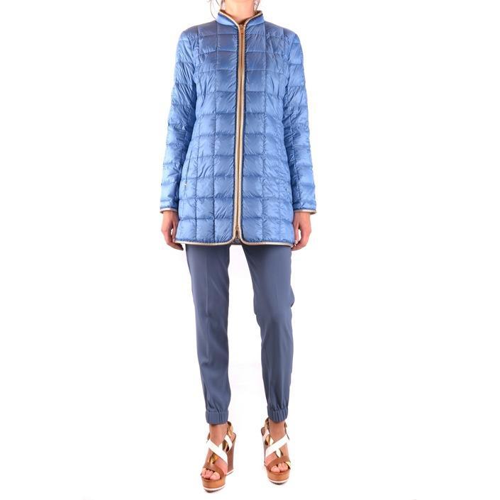 Fay Women's Jacket Blue 163902 - blue L