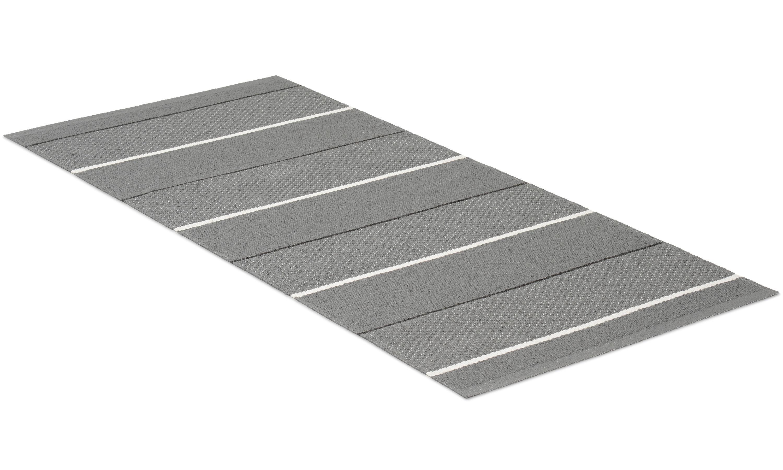 Loke grå - plastteppe