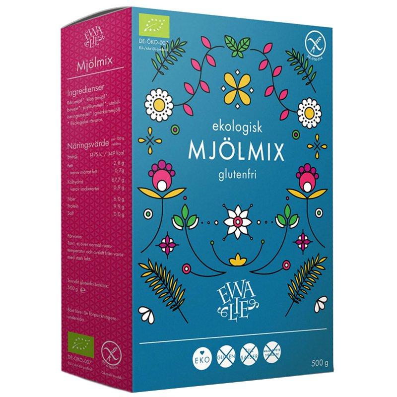 Eko Mjölmix Glutenfri 500g - 32% rabatt