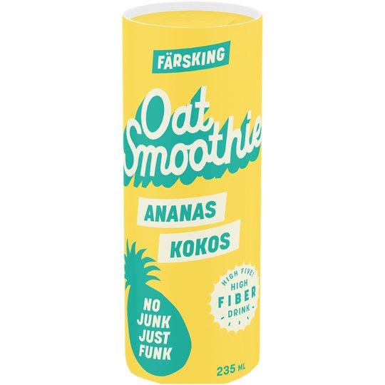 Oat Smoothie Kokos & Ananas - 79% rabatt