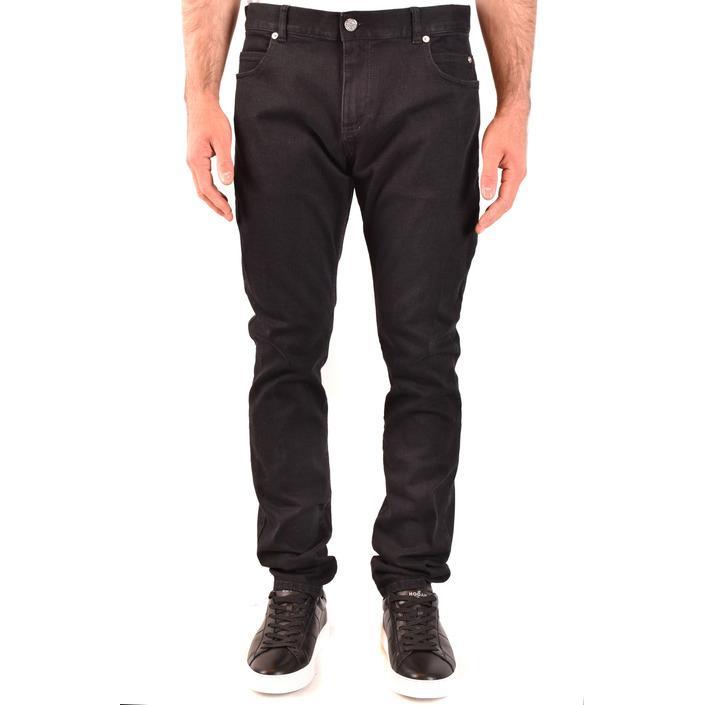 Balmain Men's Jeans Black 203777 - black 33