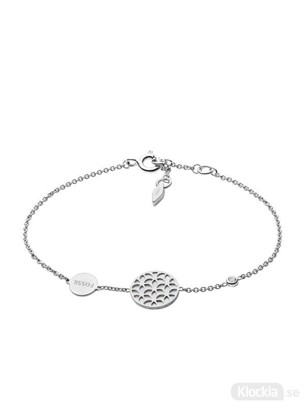 Damsmycke FOSSIL Armband Sterling Silver JFS00463040