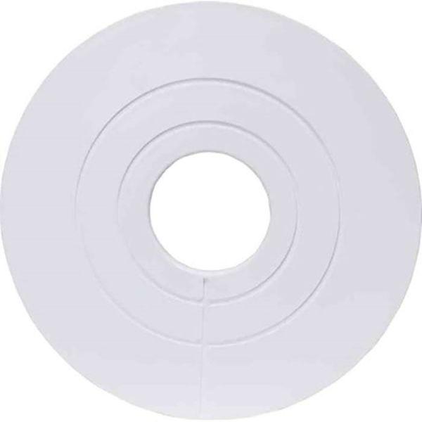Gelia 3000540002 Dekkbrikke for avløpsrør, 110 X 170 mm, hvit
