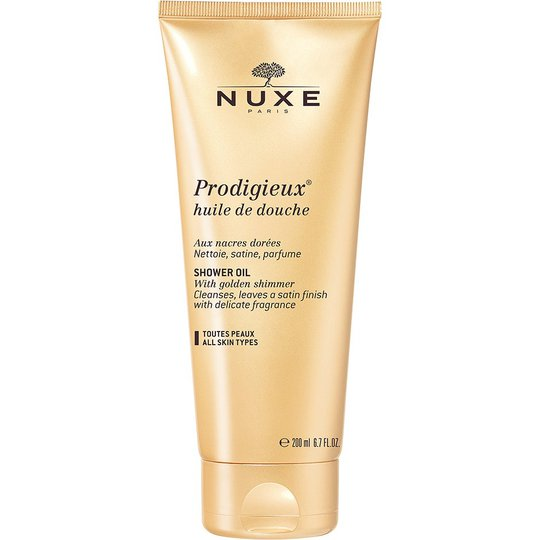 NUXE Prodigieux Shower Oil with Golden Shimmer, 200 ml Nuxe Suihkugeelit