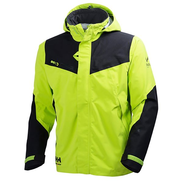 Helly Hansen Workwear Magni Jacka limegrön, justerbar krage S