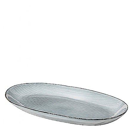 Fat Oval L Nordic Sea Steingods, W17X30 CM