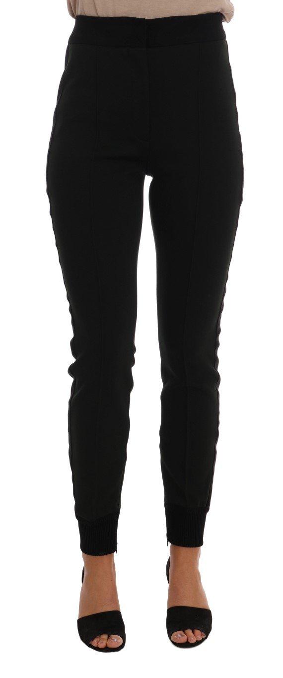 Dolce & Gabbana Women's Nylon Casual Trouser Green BYX1114 - IT44|L