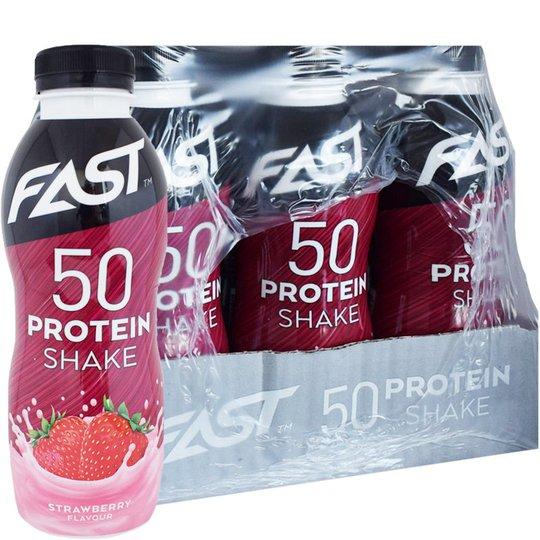 Proteinshake Jordgubb 12-pack - 41% rabatt