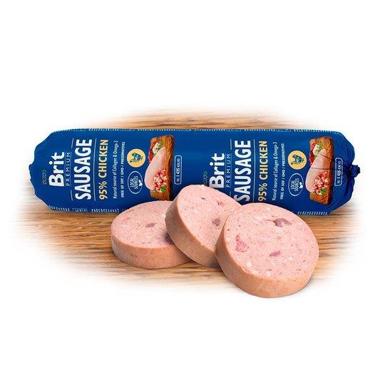 Brit Premium Köttkorvar Kyckling