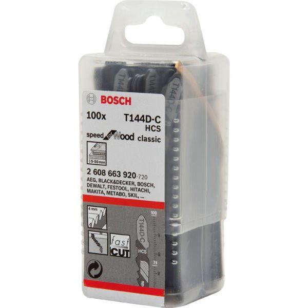 Bosch Speed for Wood Stikksagblad 100mm 100-pakn.