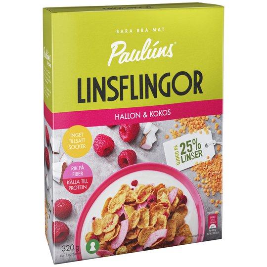 Linsflingor Hallon & Kokos - 27% rabatt