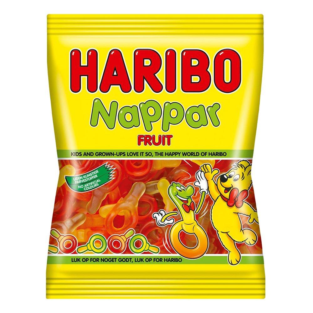 Fruktnappar Godispåse - 80 gram