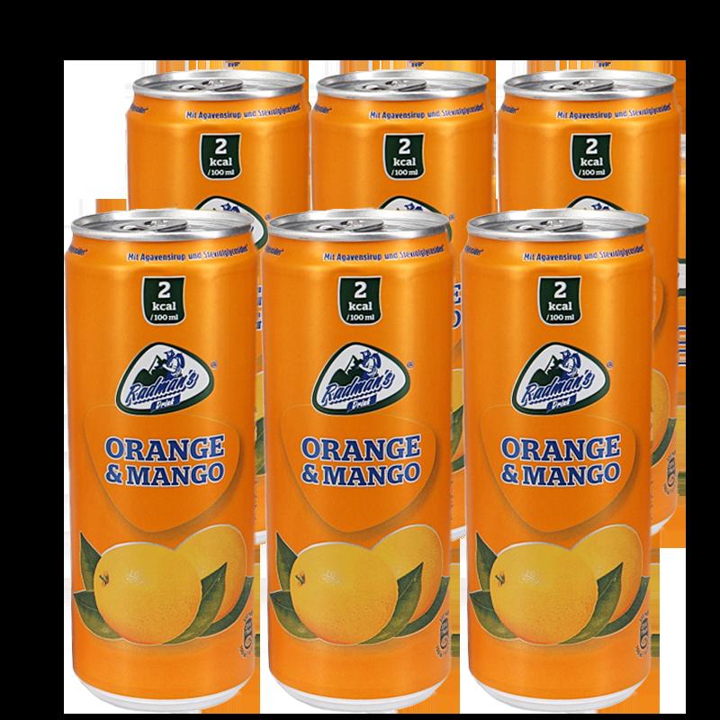 Läsk Apelsin & mango 6-pack - 55% rabatt
