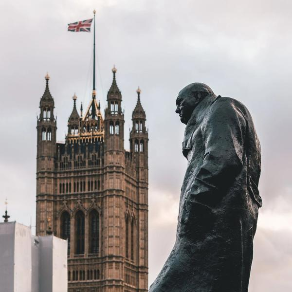 The Footsteps of Winston Churchill