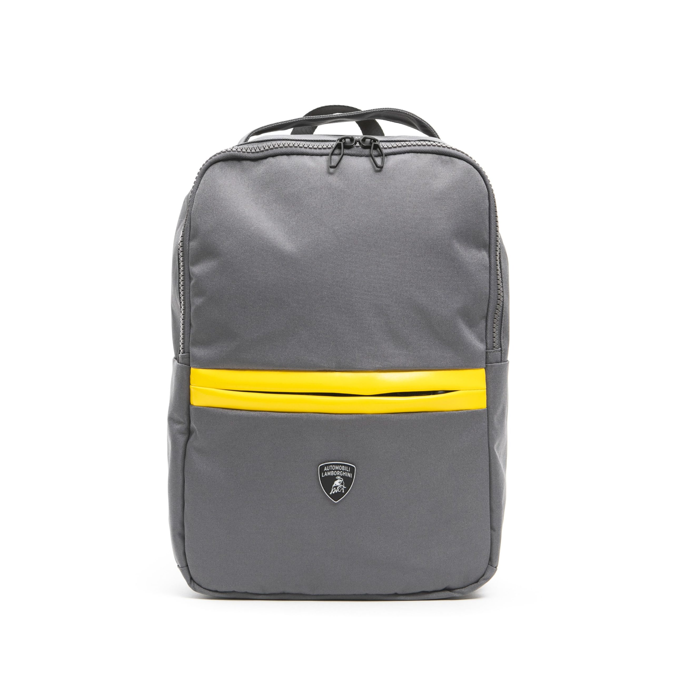 Lamborghini Men's Grigio Backpack Grey LA1263027
