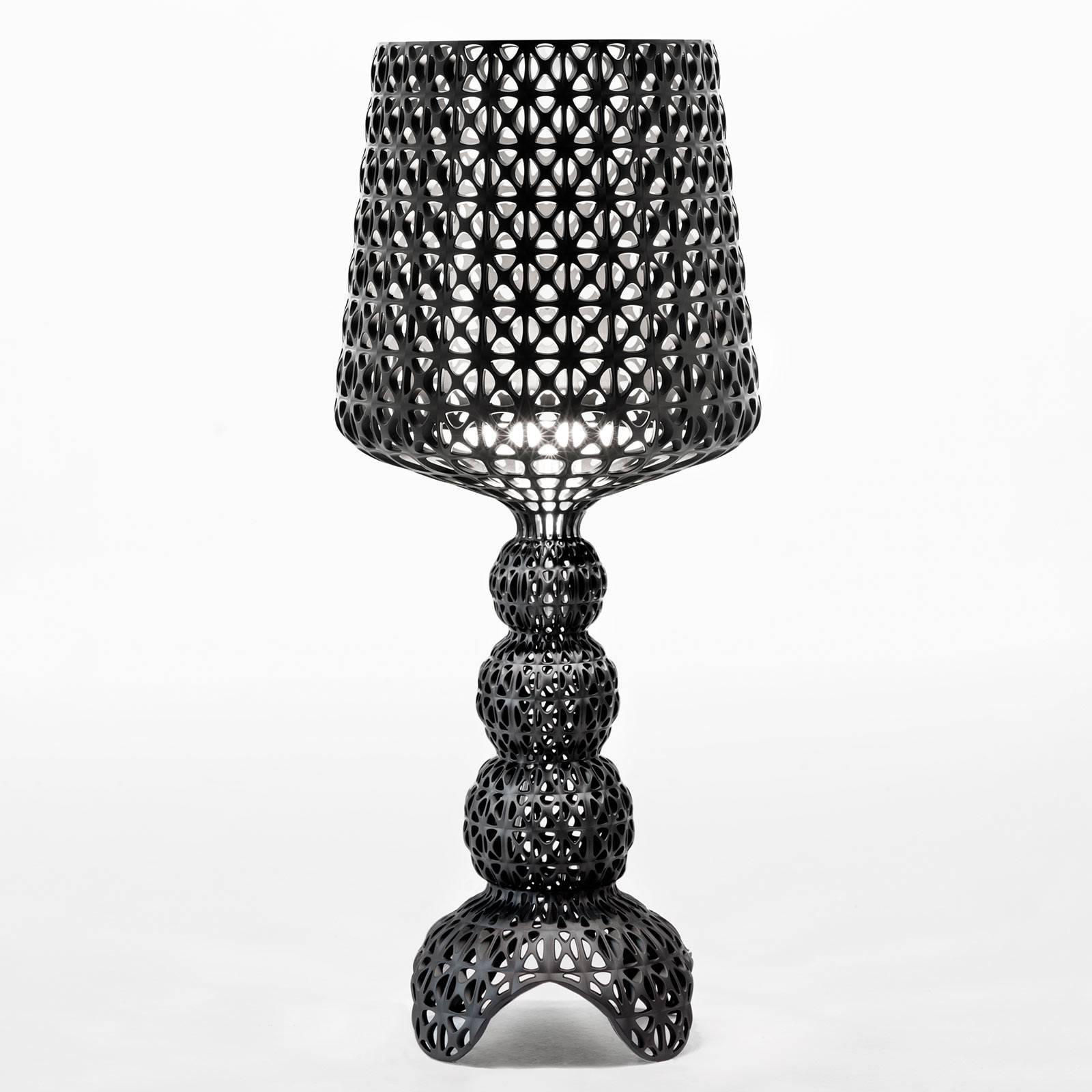 Kartell Mini Kabuki -LED-pöytälamppu, musta